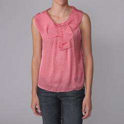 Piano Brand Juniors Polka dot Sleeveless Blouse