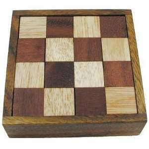 Devils Chess Wooden Brain Teaser Puzzle Toys & Games