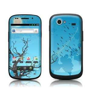 Winter Sky Design Protective Skin Decal Sticker for Samsung Google