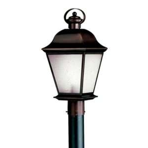 Kichler Lighting 10911OZ Mount Vernon 1 Light Fluorescent Outdoor Post
