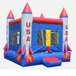 Kidwise 15 Foot Space Bounce House (Commercial Grade) Toys & Games