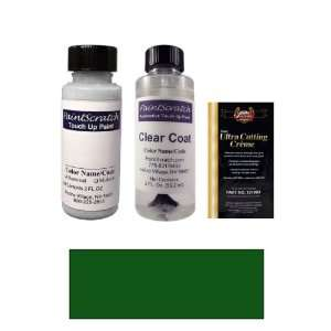 Green (matt) Metallic Paint Bottle Kit for 1999 Mercedes Benz Matt