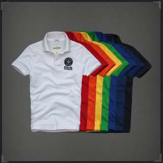 2012 New Boys abercrombie & fitch kids By Hollister Polos Shirt