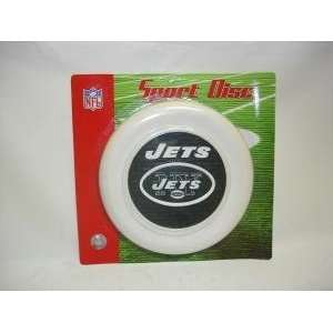 New York Jets Sport Disc Licensed NFL Frisbee Dog Toy Pet
