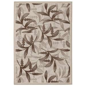 Sunscape Collection Ivy Vine / Cocoa Ivory RugCouristan Rug
