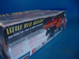 Lindberg Little Red Wagon Racing Team Plastic Model Kit 1/25 Scale