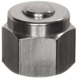 316 316 Stainless Steel Compression Tube Fitting, Cap, 3/8 Tube OD