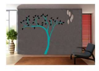 HUGE TREE VINYL DECAL STICKER WALL ART DECOR FLORAL REMOVABLE HOME