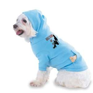 BUGLE PLAYERS Are Hot Hooded (Hoody) T Shirt with pocket for your Dog