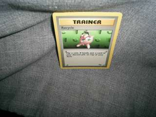 POKEMON TRADING CARD TRAINER RECYCLE
