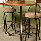 Powell Collection Powell Hamilton Pub Table, Brushed Faux Medium