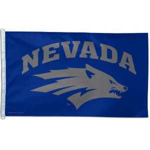 NCAA Nevada Wolf Pack 3 by 5 foot Flag