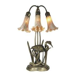 Dale Tiffany Columbus 3 Light Table Lamp TA70049