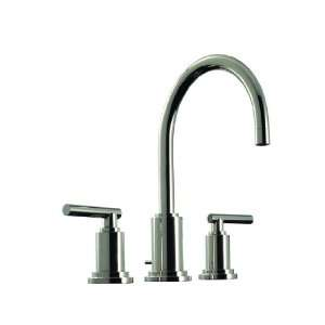 Modena III Double Handle Widespread Bathroom Faucet with Metal Bar L