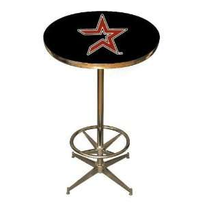 Houston Astros 40in Pub Table Home/Bar Game Room Sports