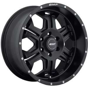 BMF SERE 20x9 Flat Black Wheel / Rim 6x5.5 with a 0mm Offset and a 106