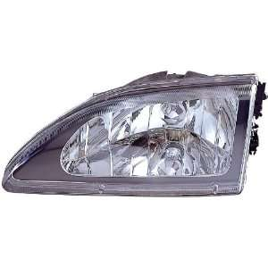 Depo 331 1142PXAS2 Ford Mustang Black Diamond Headlight