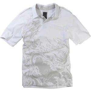 Fox Racing Transform Polo   Small/White Automotive
