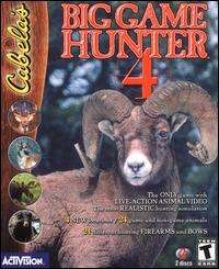 Cabelas Big Game Hunter 4 PC CD hunt deer, elk, turkey, bear, caribou