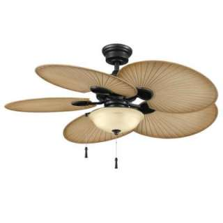Hampton Bay Havana 48 in. Natural Iron Indoor/Outdoor Ceiling Fan
