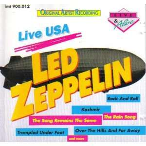 live in USA Led Zeppelin  Musik