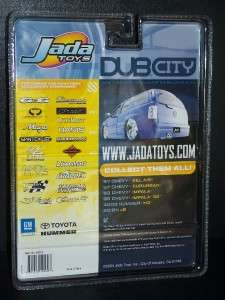 2004 JADA TOYS 164 DUB CITY 57 CHEVY SUBURBAN COLLECTOR #088 BLUE