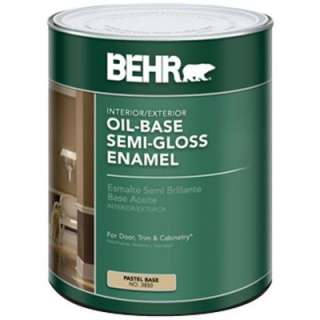 Pastel Base Interior/Exterior Oil Based Paint 385004