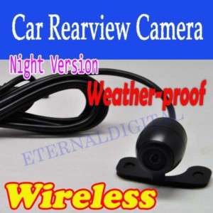 New Wireless Car Rear View Reverse Camera Night Vision