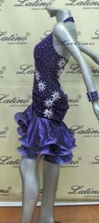 LATIN SALSA(BALLROOM) COMPETITION DRESS SIZE M (LT474B)