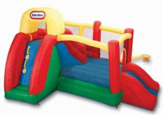 New Big Inflatable Dual Slide Fun Bounce House Bouncer