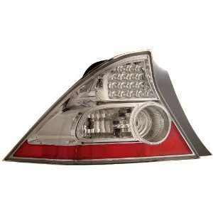 Anzo USA 321034 Honda Civic Chrome LED Tail Light Assembly   (Sold in