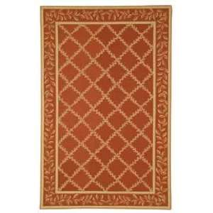 Chelsea HK230E Rust and Gold Country 3 x 3 Area Rug