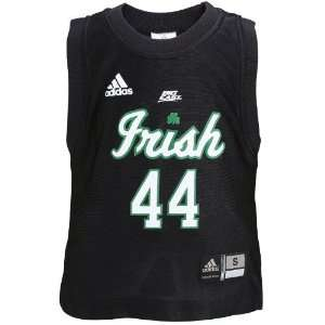 adidas Notre Dame Fighting Irish #44 Black Toddler Replica Basketball