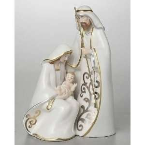 Pack of 2 Antique Chic Porcelain Holy Family Figures