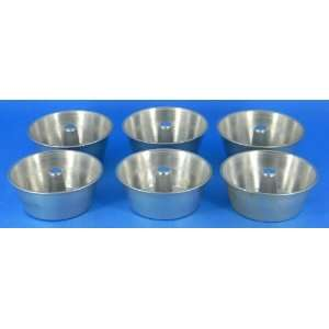 6 Individual Mini Angel Food Cake Pans