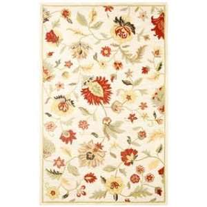 Rugs Dimension DI 1159 Ivory Country 3 X 5 Area Rug