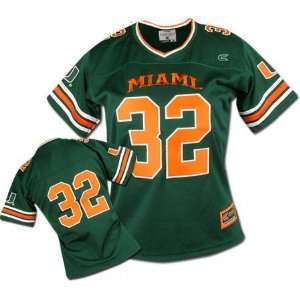 Miami Hurricanes Womens Gridiron Football Jersey