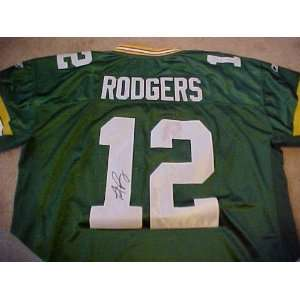 Hand Signed Autographed Authentic Reebok Green Bay Packers Jersey