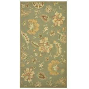 Handmade Garden Joy 4 6 x 7 6 Indoor / Outdoor Rug