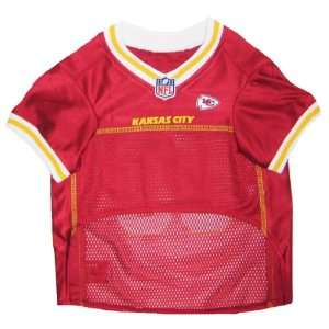 Pets First NFL Kansas City Chiefs Jersey, Small