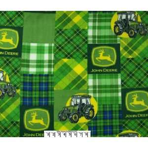 John Deere Patch Sampler Fleece Arts, Crafts & Sewing
