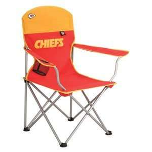 Kansas City Chiefs NFL Deluxe Folding Arm Chair by Northpole Ltd