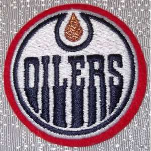 NHL EDMONTON OILERS Team Logo Crest Embroidered PATCH