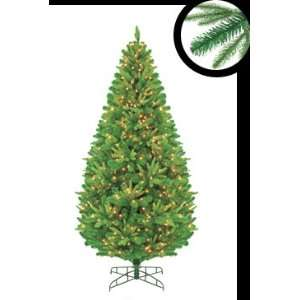 9 Pre Lit Ready Shape Windham Pine Artificial Christmas Tree