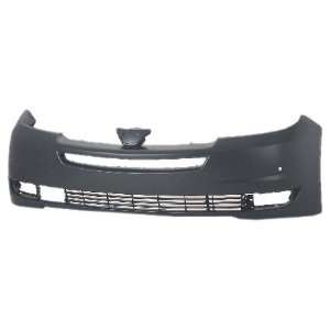 OE Replacement Toyota Sienna Front Bumper Cover (Partslink