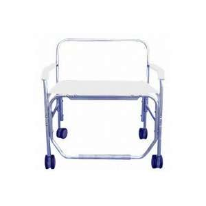 Heavy Duty Shower/Commode Chair with Bench Seat without