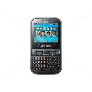 Samsung C3222 Ch@t Dual SIM Unlocked GSM Phone with QWERTY Keypad, 1.3
