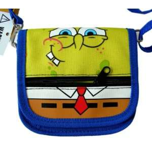 Spongebob Squarepants Wallet with Strap /Spongebob Mini