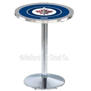 Winnipeg Jets NHL Hockey Chrome Pub Table L214  Sports