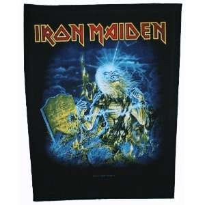 Iron Maiden Live After Death Woven Back Jacket Patch